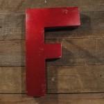 F en zinc